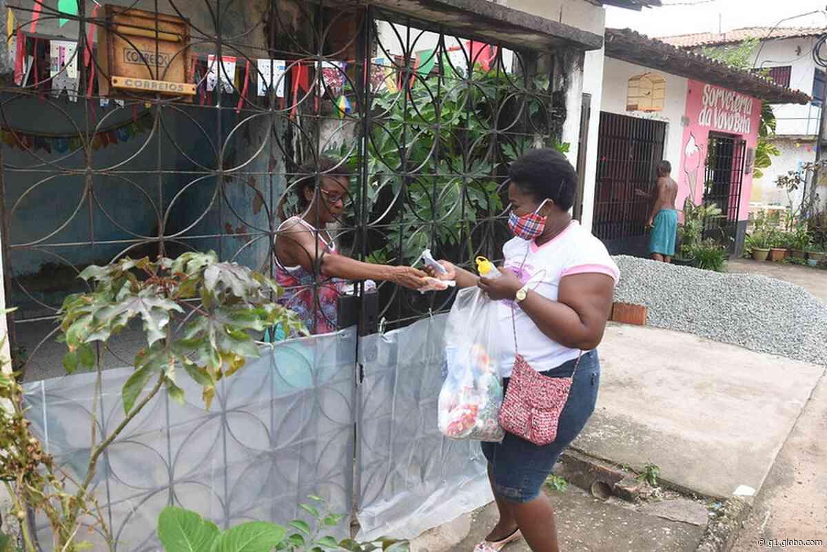 Projeto da UFMA entrega cinco mil máscaras para a comunidade do Itaqui-Bacanga, em São Luís - G1