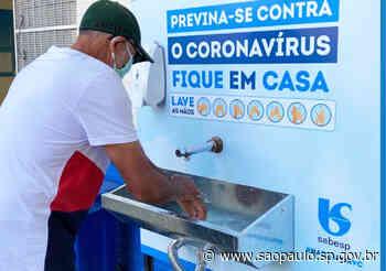 Sabesp instala lavatório em posto de saúde em Diadema - Portal do Governo do Estado de São Paulo