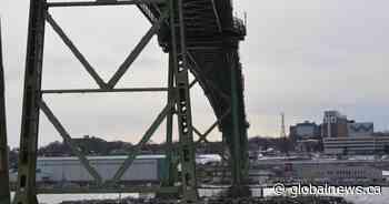 Teen suffers life-threatening injuries in watercraft collision near Macdonald Bridge