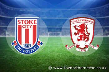 LIVE: Stoke City vs Middlesbrough