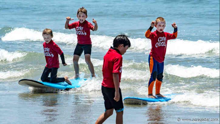 Beach camps splash into summer along the coast