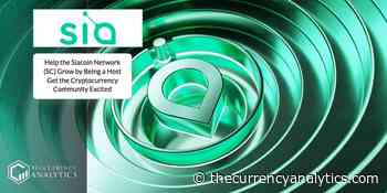 Help the Siacoin Network (SC) Grow by Being a Host Get the Cryptocurrency Community Excited - The Cryptocurrency Analytics