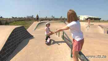 Autumn Bailey: 3-Jährige fährt Skateboard wie die großen Kids - RTL Online