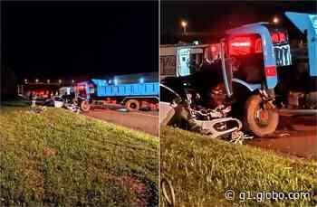 Pai e filha morrem em acidente entre carro e caminhão em Itapeva - G1