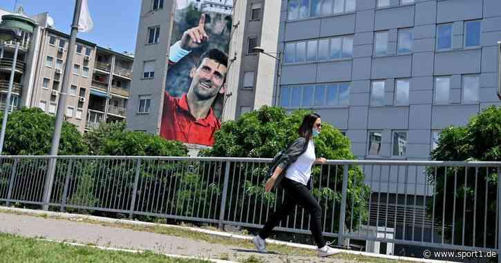 Novak Djokovic: Hassplakat mit Todeswunsch nach Corona-Skandal der Adria Tour - SPORT1