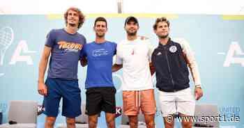 Novak Djokovic: Auch Zverev und Thiem nun unter Beschuss - Manager kontert - SPORT1