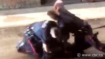 Witness shocked at force used by Calgary police dealing with sleeping man