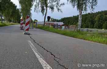 Bauarbeiten bei Kläranlage verursachen Riss in Staatsstraße - Passauer Neue Presse