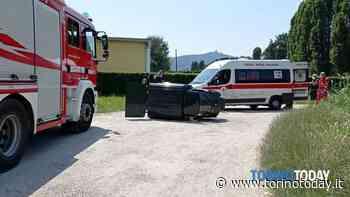 Alla guida del motocarro a 87 anni, il mezzo si ribalta e lui finisce in ospedale - TorinoToday