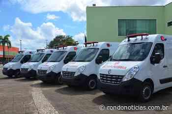 Combate à Covid-19 em Ariquemes tem reforço com ambulâncias tipo UTI Móvel - Rondo Notícias