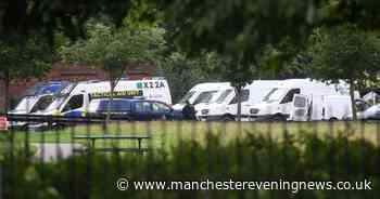 RECAP: Salford park closed as police search for knives - Manchester Evening News
