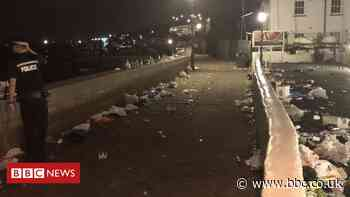 Police disperse Leigh-on-Sea crowd after reports of bottles thrown