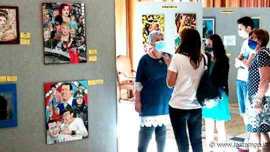 """A Canelli """"Fuoco e colore 2020"""": i pittori rendono omaggio al mondo del cinema - La Stampa"""
