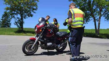 A3 bei Obertshausen: Motorrad-Drängler mit 80 km/h zu viel unterwegs - op-online.de