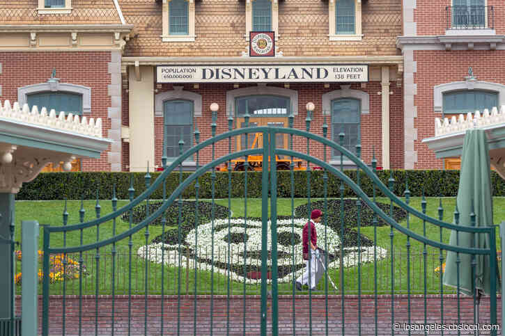 Disneyland Workers Protest, Demand Changes To Reopening Plan