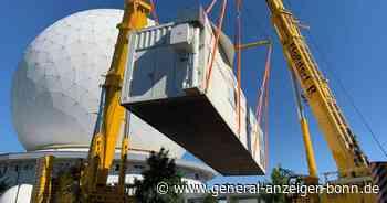 In Wachtberg entwickelt: Schwertransport fährt Weltraumradar durch Bonn - General-Anzeiger Bonn