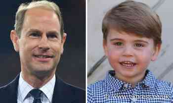 Prince Edward title: The 'unusual' way Prince Louis could follow in Edward's footsteps - Express.co.uk