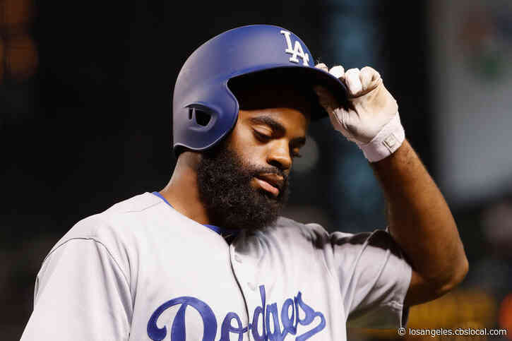 Dodgers' Andrew Toles Jailed In Florida On Trespassing Charge