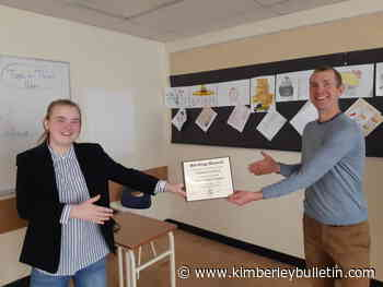 Selkirk's annual Bob Grigg Award - Kimberley Bulletin