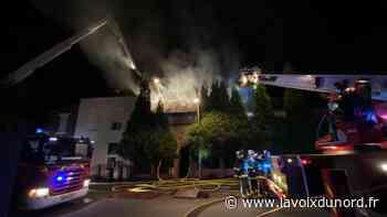 Maubeuge: un incendie éclate dans une habitation de la rue d'Hautmont - La Voix du Nord