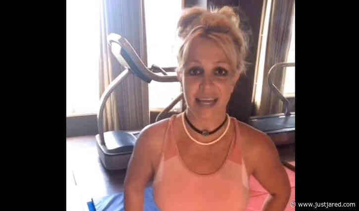 Britney Spears Gives Fans an Update on the Gym She Burned Down