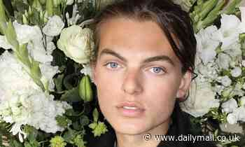 Damian Hurley, 18, thanks fans for their 'kindness' following his father Steve Bing's suicide
