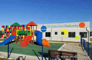 CEI Pedro Ivo Oleskovicz é inaugurado no bairro Piedade, em Canoinhas - JMais