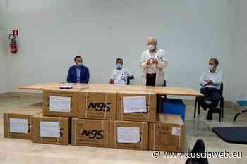 Il comune di Gallese dona 3500 mascherine all'ospedale di Civita Castellana - Tuscia Web