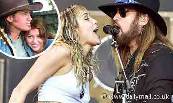 Billy Ray Cyrus says he's 'so proud' of Miley and her 'great heart' as he gushes over his daughter