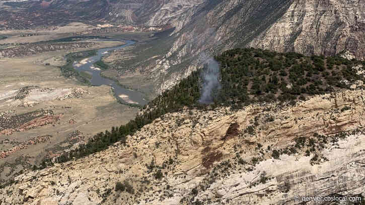 Dinosaur National Monument Visitors May See Smoke From Wildfire