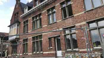 Laventie: les travaux au manoir Sainte-Paule seront finalement terminés fin septembre - La Voix du Nord