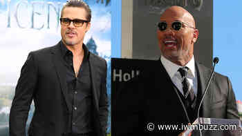 Brad Pitt VS Dwayne Johnson: Who Nailed All The Black Outfits Like A Pro? - IWMBuzz