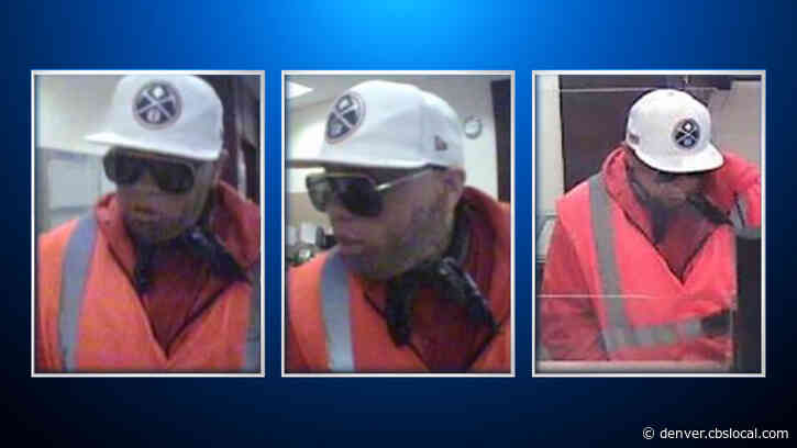 FBI Looking For Thornton Bank Robber
