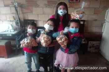 La fundación que reparte pan a familias de bajos recursos en Ciudad Bolívar y Soacha durante la pandemia - El Espectador