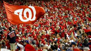 Sources: Nationals to host Yanks on Opening Day