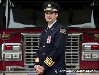 Edmonton's new fire chief to focus on mental health, diversity - Edmonton Journal