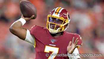 Doug Williams: Dwayne Haskins has the best arm of any QB drafted the last two years