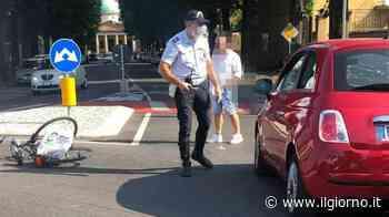 Codogno, incidente alla rotatoria: ferito un ciclista - IL GIORNO
