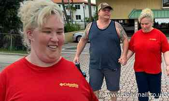 Mama June Shannon spotted with Geno Doak after admitting she spent up to $3,000 per day on crack