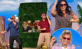 Martin & Roman's Sunday Best SPOILER: Ella Henderson and Scarlett Moffatt do banana drop challenge