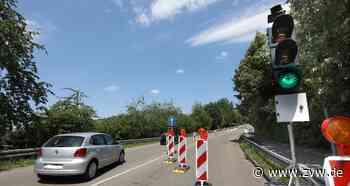 Baustelle in Grunbach: Die Remsbrücke ist wieder befahrbar - Remshalden - Zeitungsverlag Waiblingen