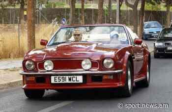 David Beckham's vintage Aston Martin being sold for $550000 - Information-Analytic Agency NEWS.am