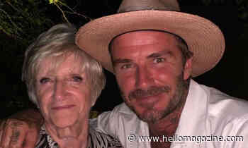 David Beckham melts hearts with emotional tribute to mum Sandra - HELLO!
