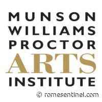Munson-Williams-Proctor Arts Institute earns grant   Rome Daily Sentinel - Rome Sentinel