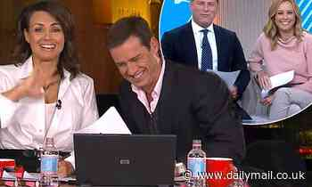 Karl Stefanovic claims Today co-host Allison Langdon will repeat his tipsy 2009 Logies broadcast - Daily Mail