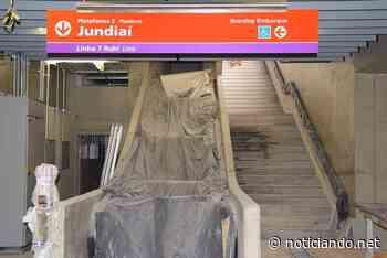 Obras de construção da Estação Francisco Morato estão na reta final - Rede Noticiando