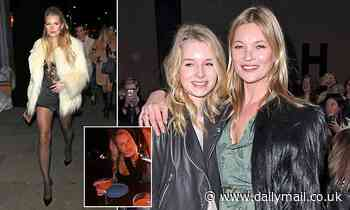 Kate Moss's wild child sister Lottie embraces the quiet life