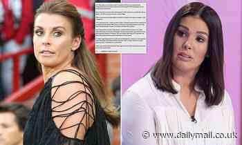 Coleen Rooney DROPS plans to counter-sue Rebekah Vardy
