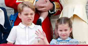 Prince George 'grumpy' after little brother Louis beats him in competition