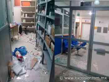 Se oponen a sanitización y vandalizan San Andrés Larraínzar, Chiapas - Excélsior